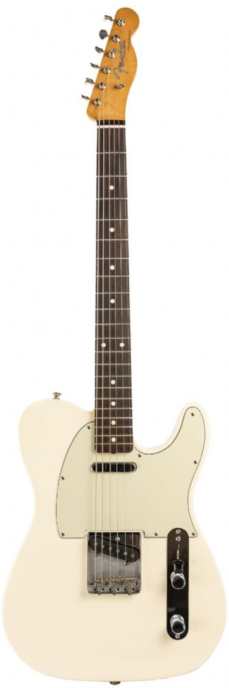 Fender Classic 60s Telecaster Olympic White with Case, Pre Owned